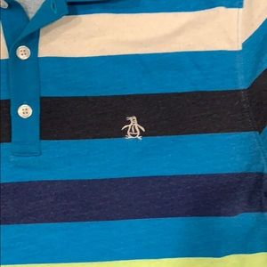 Original Penguin Shirts - Original penguin polo heritage slim fit size m